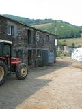 Spanish farm. A typical farm of Galicia (Spain Stock Photo