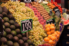 Spanish Farmers Markets Royalty Free Stock Image