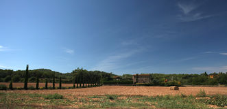 Spanish Farmland Royalty Free Stock Photography