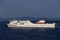 Spanish Ferry Boat Royalty Free Stock Image