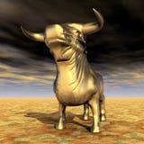 Spanish Fighting Bull Stock Photo
