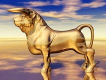 Spanish Fighting Bull Royalty Free Stock Photo