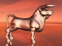 Spanish Fighting Bull Stock Photography