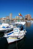 Spanish fishing boat, Fuengirola. Stock Image