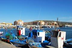 Spanish fishing boats,Spain. Stock Photos
