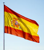Spanish flag Stock Photos