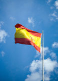Spanish flag. Stock Images