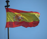 Spanish Flag of Spain Stock Image