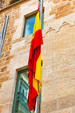 Spanish  flag Stock Image