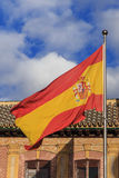 Spanish flag Stock Photography