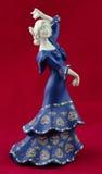 Spanish Flamenco Dancer Royalty Free Stock Images