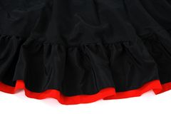 Spanish flamenco skirt Stock Photos