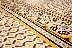 Spanish floor tiles Royalty Free Stock Photos
