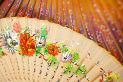 Spanish Folding Fans Royalty Free Stock Images