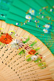 Spanish Folding Fans Royalty Free Stock Photo