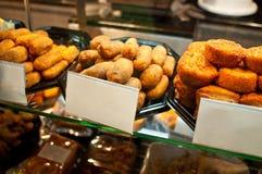 Spanish food: croquetas Stock Photos