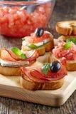 Spanish food tapas Stock Photo