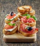 Spanish food tapas Stock Photos