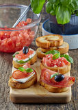 Spanish food tapas Royalty Free Stock Images