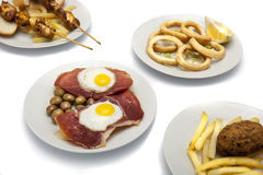 Spanish food Stock Image