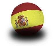 Spanish Football Royalty Free Stock Photography