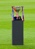 Spanish Football League Trophy Royalty Free Stock Photo