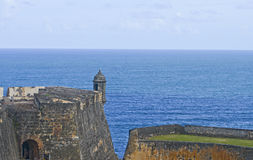 Spanish fort Garita - look-out post Stock Images