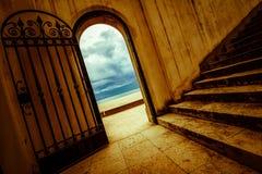 Spanish gate Tamarit Royalty Free Stock Images