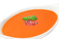 Spanish gazpacho Stock Photos
