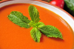 Spanish gazpacho Stock Photo