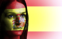 Spanish girl Stock Images
