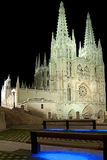 Spanish Gothic Cathedral Royalty Free Stock Images