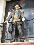 Spanish govenor on balcony Royalty Free Stock Photography
