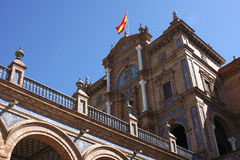 Spanish Government Building Royalty Free Stock Image
