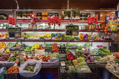 Spanish Grocery Shop - Barcelona - Spain royalty free stock images