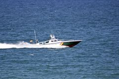 Spanish Guardia Civil coast Guard Boat Royalty Free Stock Image