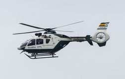 SPANISH GUARDIA CIVIL HELICOPTER Stock Photo
