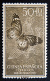 Spanish Guinea stamp Royalty Free Stock Images