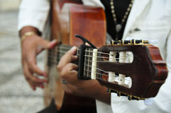 Spanish guitar Stock Images