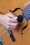 Spanish guitar Stock Photos