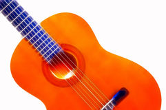 Spanish Guitar. Image treated in photoshop stock photo