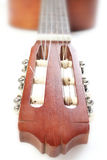 Spanish Guitar  on white Stock Photos