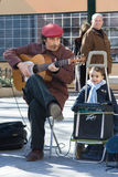 Spanish guitarist Royalty Free Stock Photo