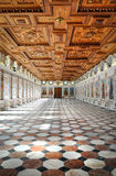 The Spanish Hall in Ambras Castle, Innsbruck, Austria. The beautiful Spanish Hall in Ambras Castle, Innsbruck, Austria Royalty Free Stock Photos