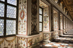 The Spanish Hall of famous Ambras Castle, Innsbruck, Austria Royalty Free Stock Image