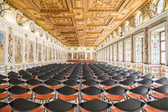 The Spanish Hall of famous Ambras Castle, Innsbruck, Austria Royalty Free Stock Photo