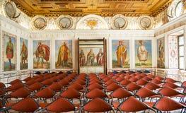 The Spanish Hall of famous Ambras Castle, Innsbruck, Austria Stock Photos