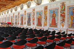 The Spanish Hall at Schloss Ambras Royalty Free Stock Photo