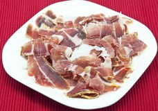 Spanish ham Royalty Free Stock Photos
