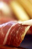 Spanish ham stock images